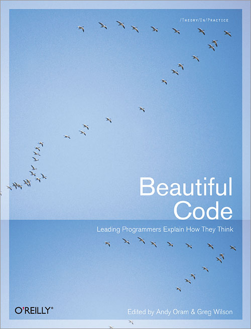 The cover of Beautiful Code